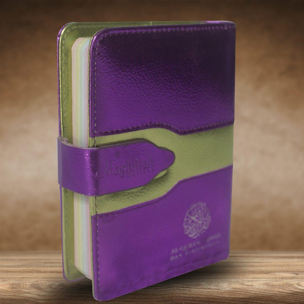 Ar-Razzaaq Qur'an Tajwid Warna & Terjemah (Ungu)