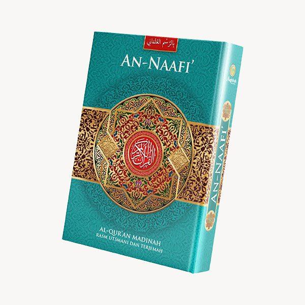 Penerbit Al-Quran An-Naafi warna hijau