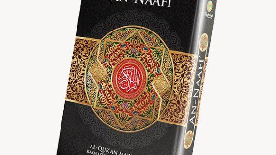 Penerbit Al-Quran An-Naafi warna hitam