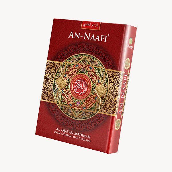 Penerbit Al-Quran An-Naafi warna merah