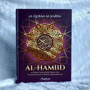penerbit al quran al hamiid transliterasi