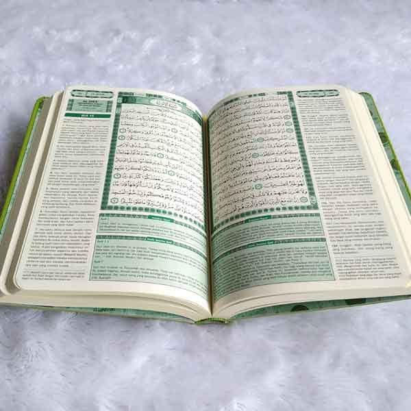 Quran dan Terjemah Karet